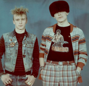 """A Punk and 'Liuber'"" 1988"